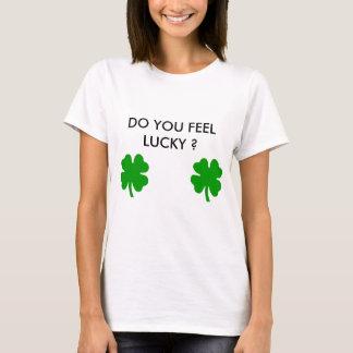 Camisetas Obtenha afortunado