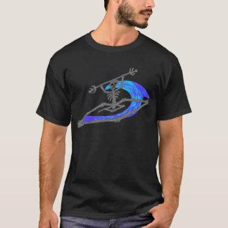 Camisetas Ossos de Wavey do caiaque