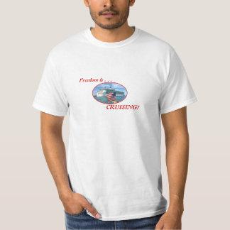 Camisetas Oval do cruzeiro de Sailaway