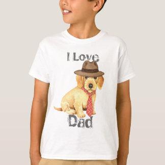 Camisetas Pai Wirehaired do Dachshund