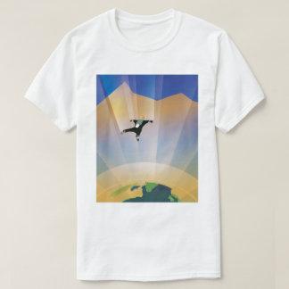 Camisetas Poster futuro de Sci Fi do viagem da NASA - terra