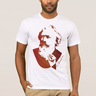 Camisetas Presente de Johannes Brahms do compositor da