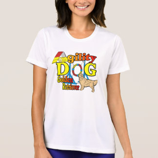 Camisetas Presentes da agilidade do golden retriever