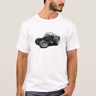 Camisetas Preto do carrinho de duna
