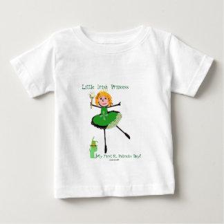 Camisetas Princesa irlandesa pequena - o dia do meu primeiro