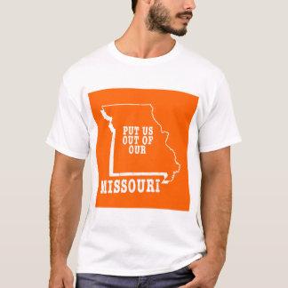 Camisetas Psto nos fora de nosso Missouri
