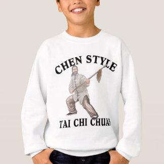 Camisetas Qui Chuan do estilo TAI de Chen