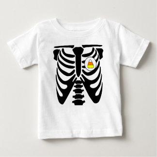 Camisetas raio X do milho de doces