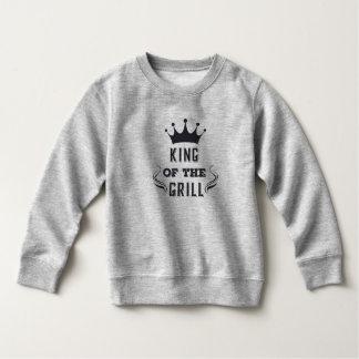 Camisetas Rei engraçado da camisola da grade |