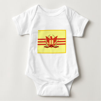 Camisetas República da bandeira das forças militares de