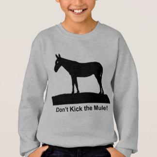 Camisetas Retroceda a roupa da mula