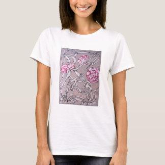 Camisetas Rosas e espinhos