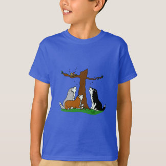 Camisetas Roucos que cantam aos pássaros