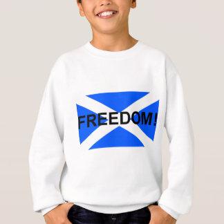 Camisetas Saltire escocês da liberdade