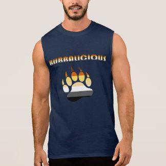 Camisetas Sem Manga Orgulho alegre do urso do caboz do urso de