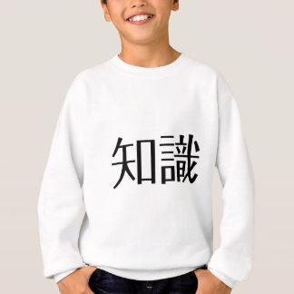 Camisetas Símbolo chinês para o conhecimento