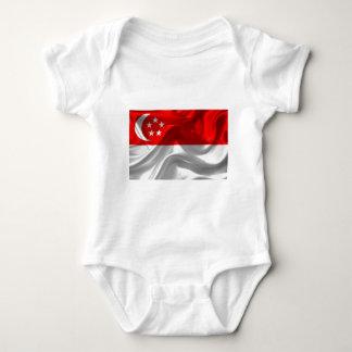 Camisetas Singapore-Bandeira