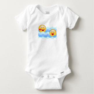 Camisetas Smiley da onda