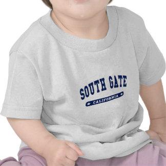 Camisetas sul do estilo da faculdade de Califórnia