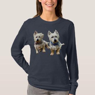 Camisetas T-Camisa de Westies