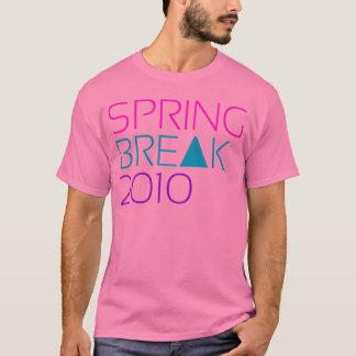 Camisetas T cor-de-rosa das férias da primavera 2010