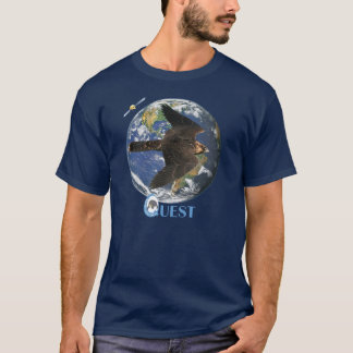 Camisetas T da excursão da procura (escuro)