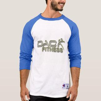 Camisetas T do basebol do logotipo da malhação de DAC