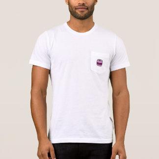 Camisetas T do bolso do pop de soda das mulheres