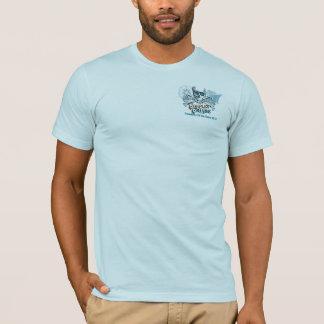 Camisetas T do centímetro cúbico, grande