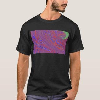 Camisetas T do derretimento dos homens