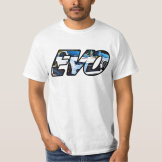 Camisetas T do original de EVO