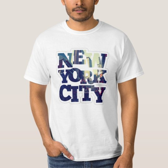 Camisetas T shirt new York city