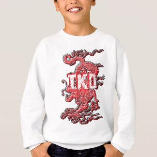 Camisetas Tae Kwon faz miúdos Sweathirt do dragão