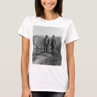 Camisetas Teddy Roosevelt e John Muir em Yosemite