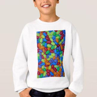 Camisetas Teste padrão colorido dos jellybeans
