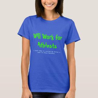 Camisetas Trabalhará para Athiests