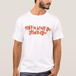 Camisetas Trabalho como um Arminian