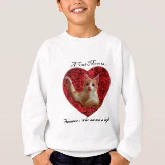 Camisetas Uma mamã do gato é alguém que salvar uma vida