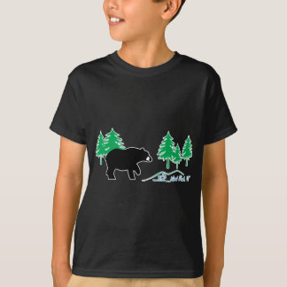 Camisetas Urso da lagoa de Neal