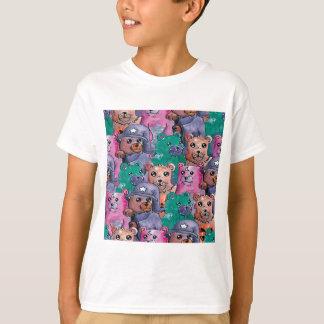 Camisetas ursos de pelucia magicos