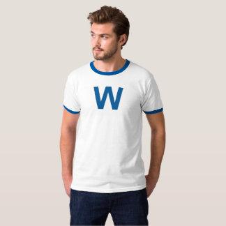 Camisetas Voe a bandeira de W - basebol de Chicago