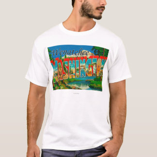 Camisetas Wenatchee, cenas da letra de WashingtonLarge