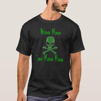 Camisetas WooHoo homens t do crânio