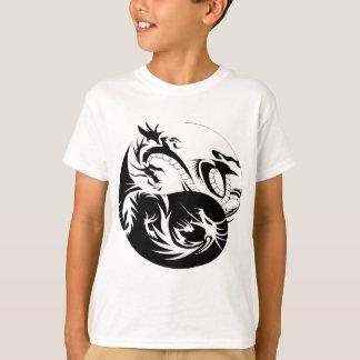 Camisetas Ying Yang dragão