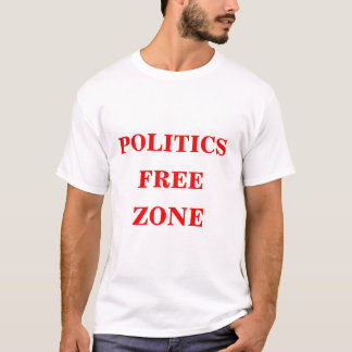 Camisetas Zona franca da política