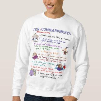 Camisola básica de dez mandamentos de Minnesota Suéter
