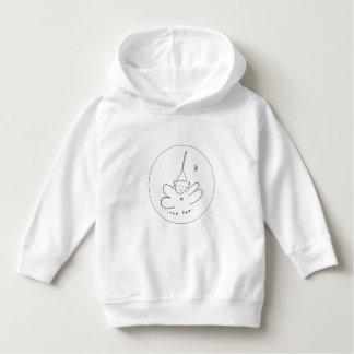 Camisola da criança com hoodie moletom