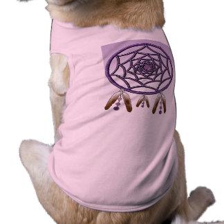 Camisola de alças com nervuras DREAMCATCHER do Camisa Sem Mangas Para Cachorro