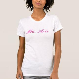 Camisola de alças da Sra. Arci Camiseta