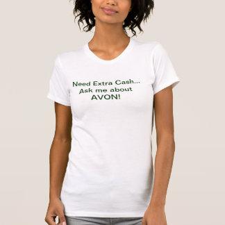 Camisola de alças de AVON - dinheiro extra da Tshirts